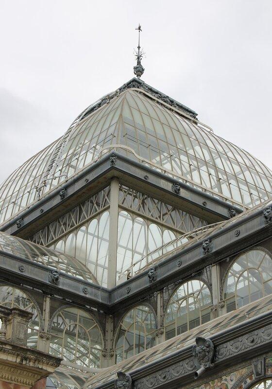Мадрид. Парк Ретиро. Хрустальный дворец. Madrid, Palacio de Cristal del Retiro
