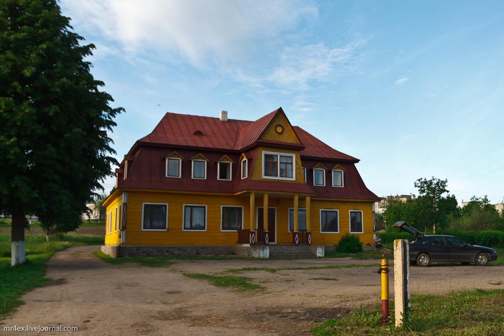 Здание гминной управы в Гольшанах
