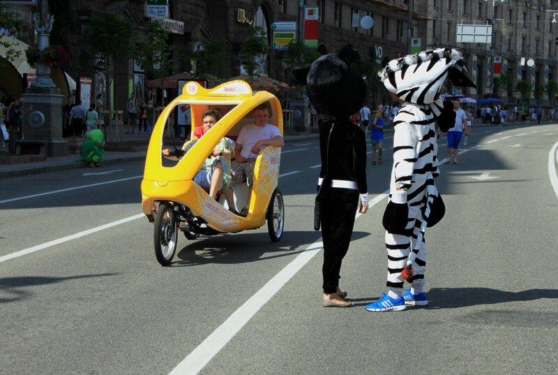 В Киев самостоятельно