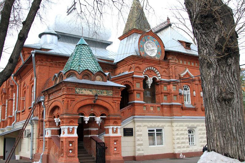 Усадьба П.И. Щукина (Биологический музей им. К.А. Тимирязева)
