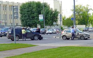 Автомобильная авария в Солнцево