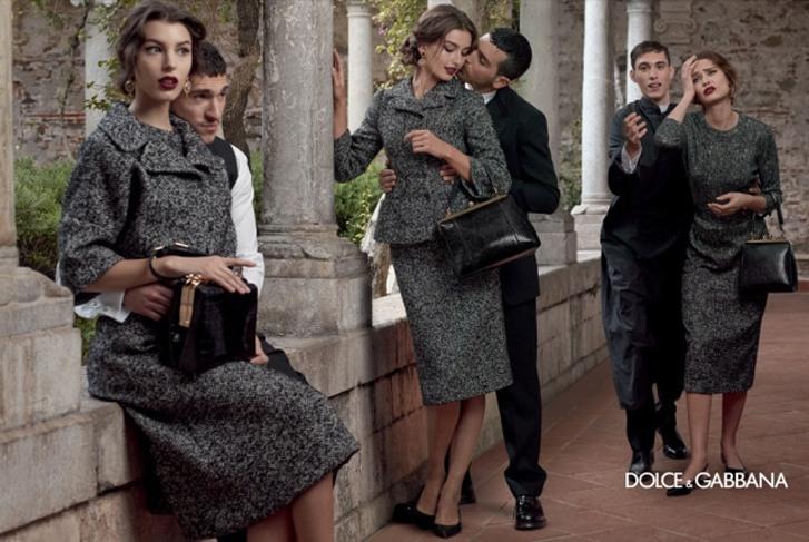 Monica Bellucci, Bianca Balti, Kate King & Andreea Diaconu - Dolce & Gabbana fall 2013 campaign