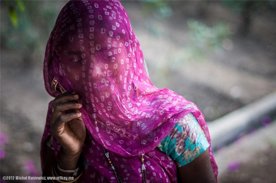 девушка из Неприкасаемых - путешествие по Индии / India by Michal Huniewicz
