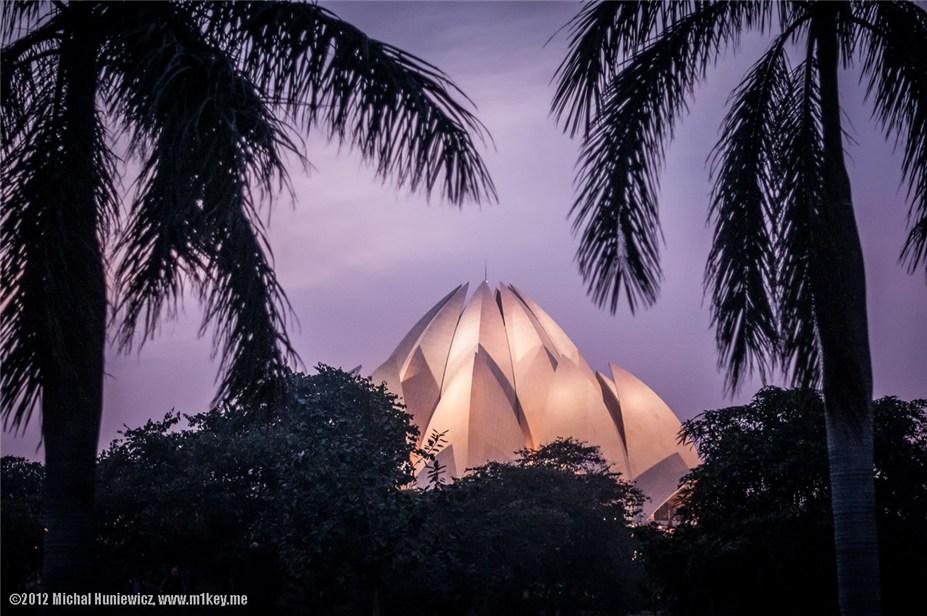 Храм Лотоса - путешествие по Индии / India by Michal Huniewicz