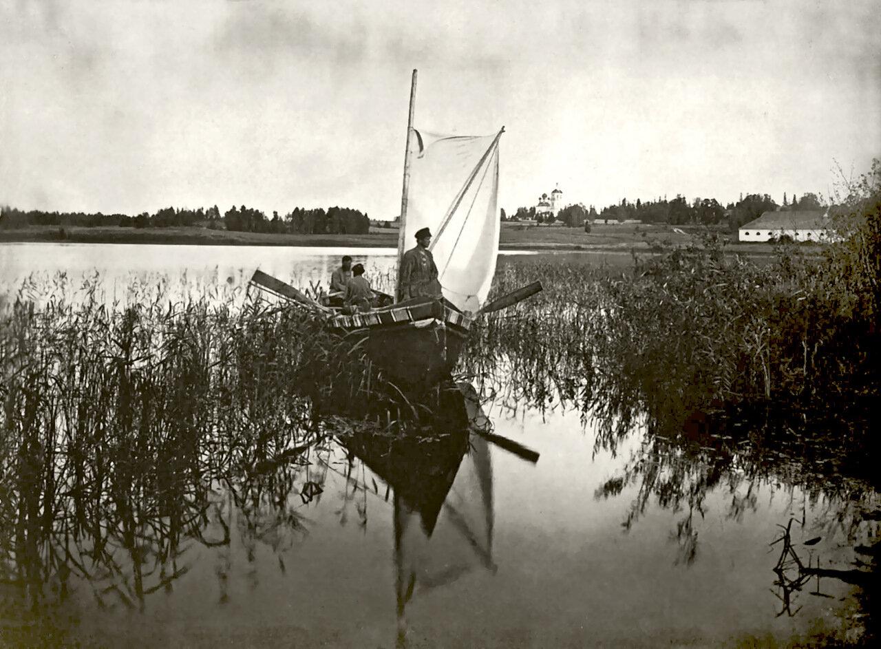 Озеро Селигер Осташковского уезда.