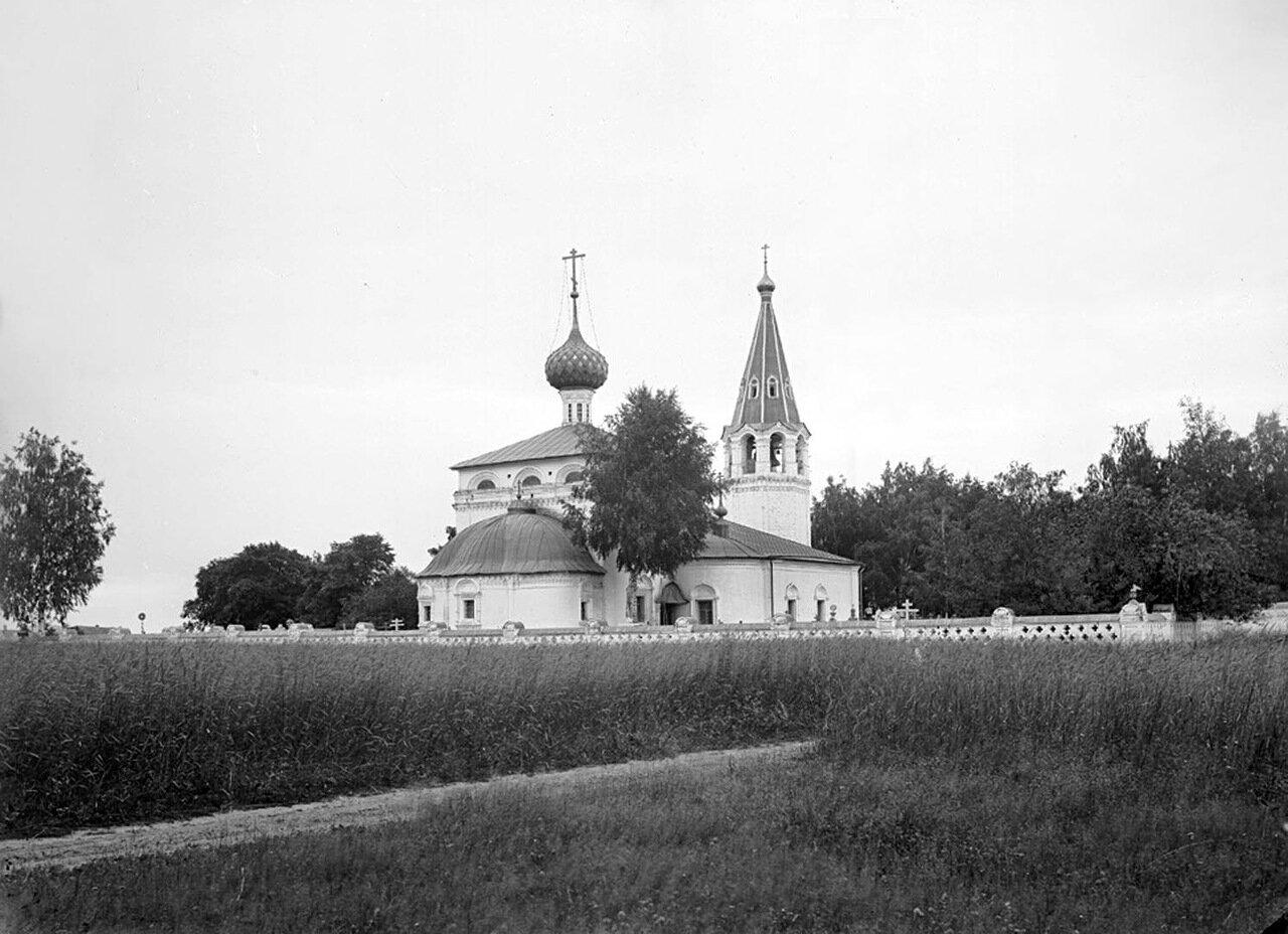 Общий вид Алексеевской церкви. 1894 г. г. Городец, Нижегородская губерния.
