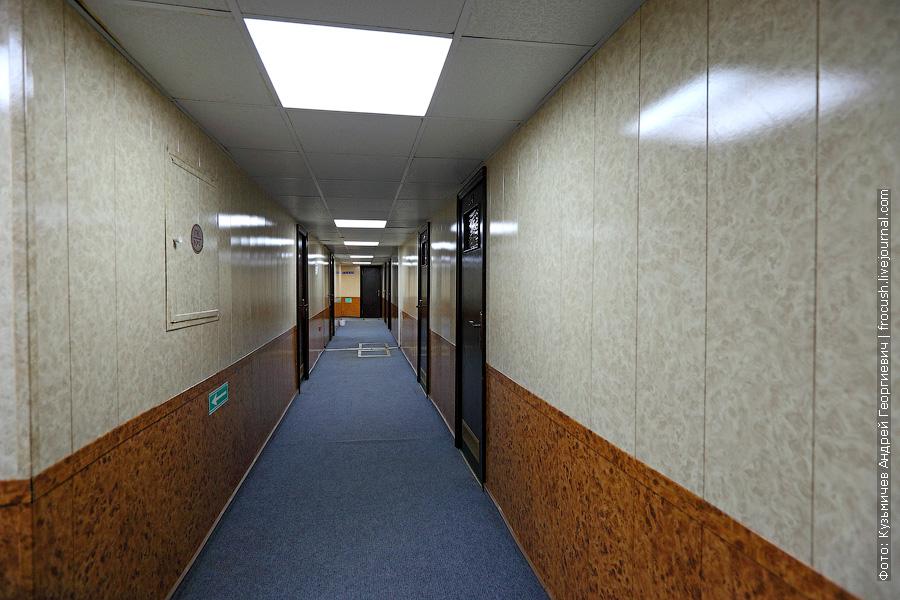 фотографии теплохода президент Правый коридор на нижней палубе