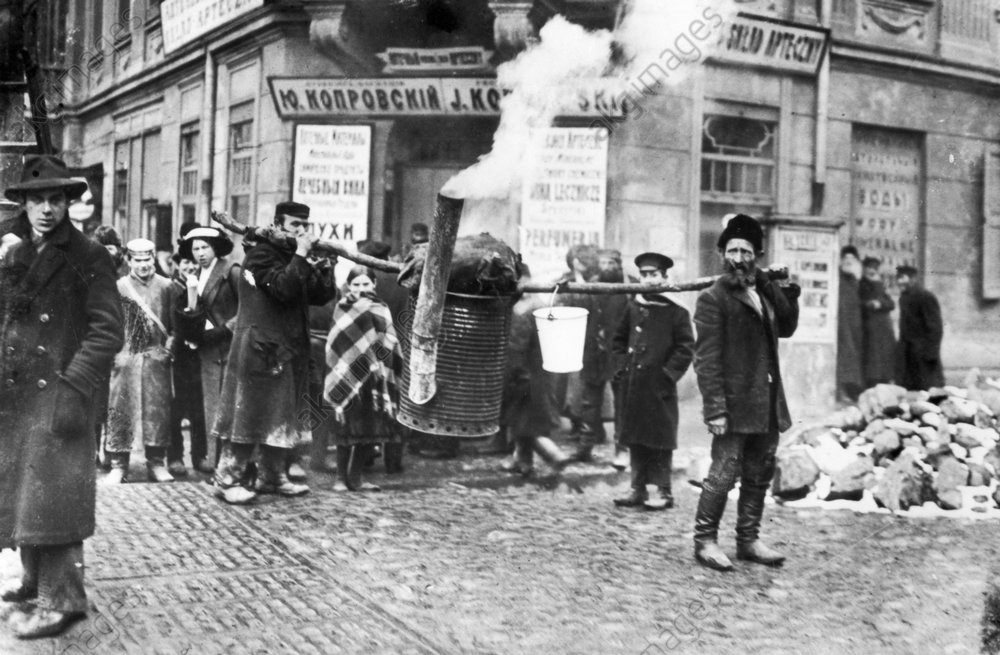 Jьdische Geschirrwдscher // 1915 - Jewish crockery washer // 1915 - Histoire des Juifs : Juifs de l'Est.
