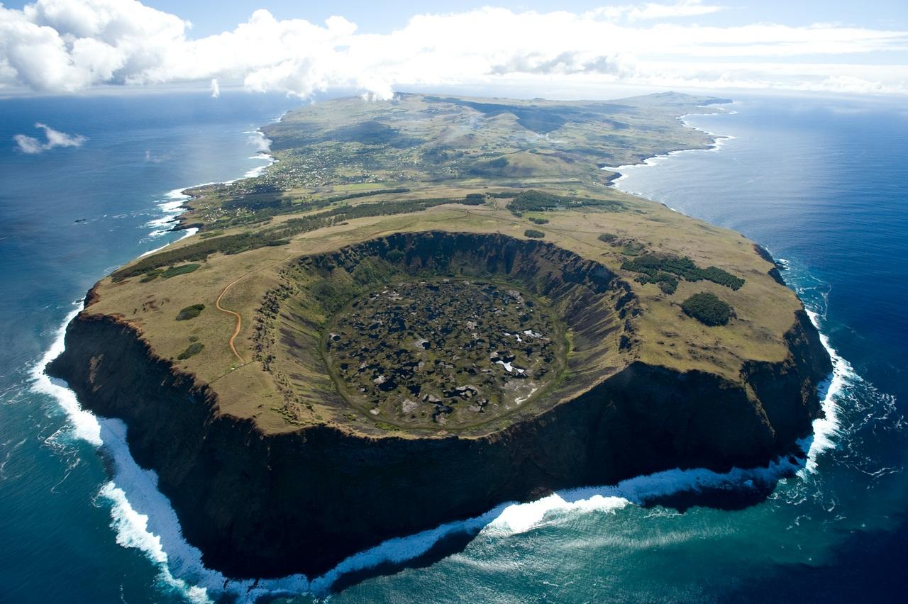 Fotograf'ias Aereas; Hotel Explora Rapa Nui