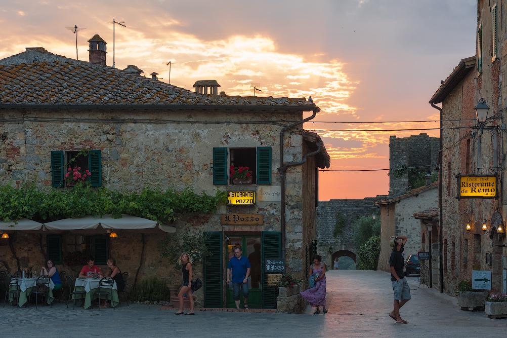 Italy. Monteriggioni. Dmitry Marin