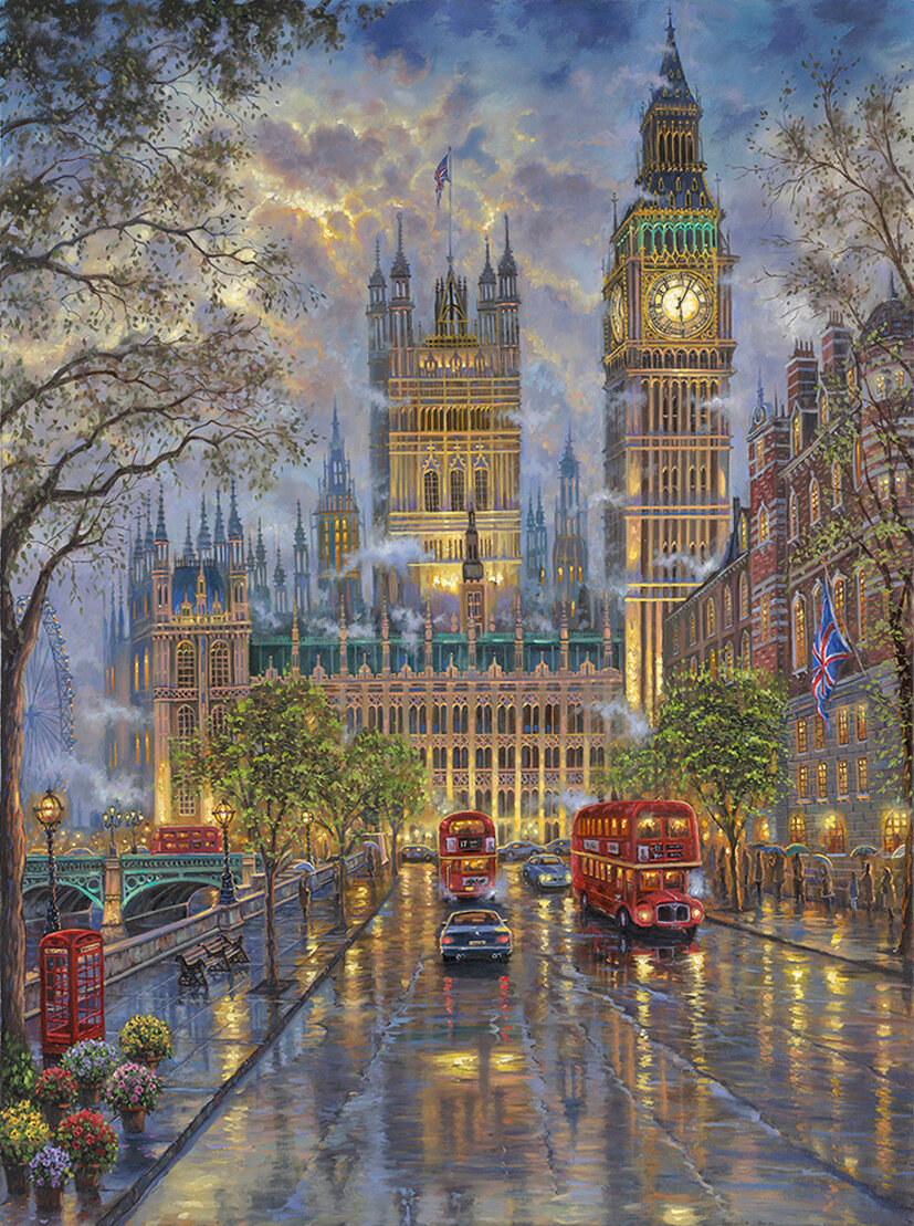 """ The Palace, Westminster London """