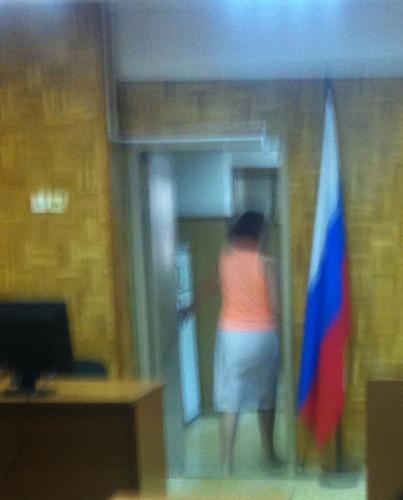 Бежал вчера в Тушинский суд