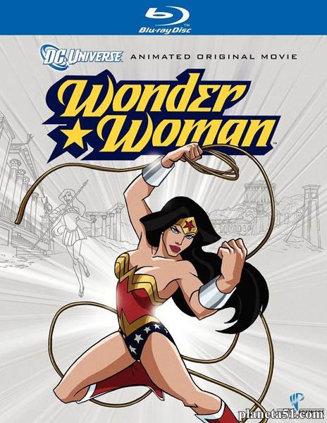 Чудо-Женщина / Wonder Woman (2009/HDRip)