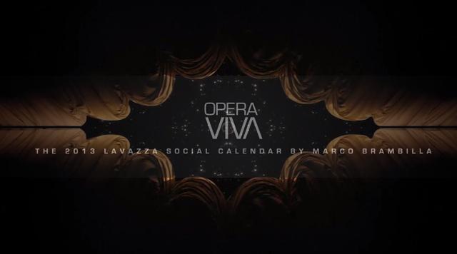Цифровой календарь от Lavazza и Marco Brambilla. 2013г.