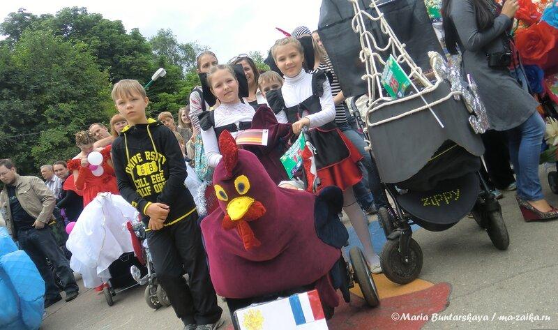 Второй парад колясок, Саратов, городской парк, 02 июня 2013 года