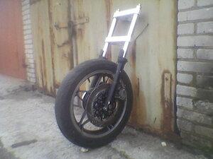 Вилка всборе с колесом от Магны
