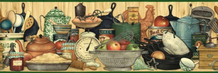 Бордюры кулинарные