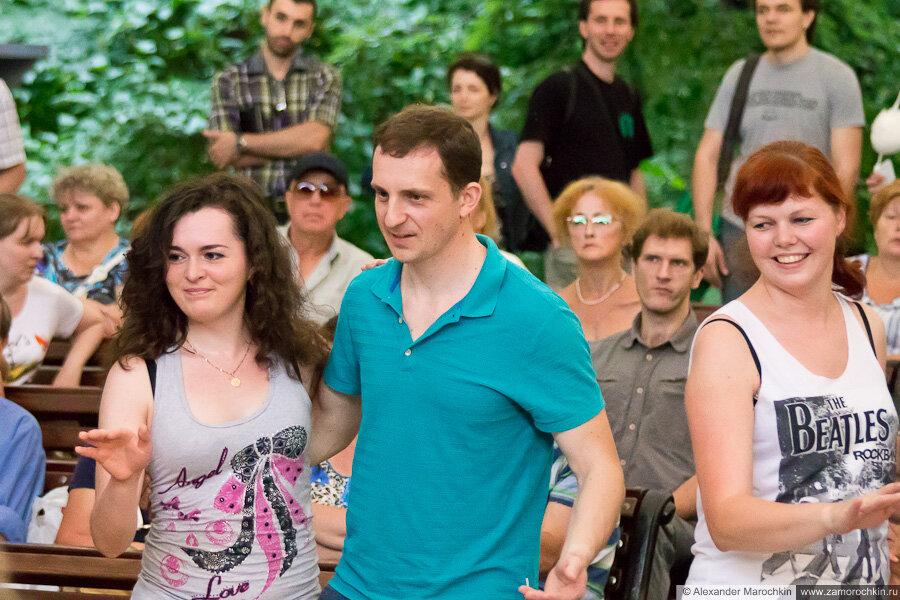 Танцевальные вечера в Екатерининском парке
