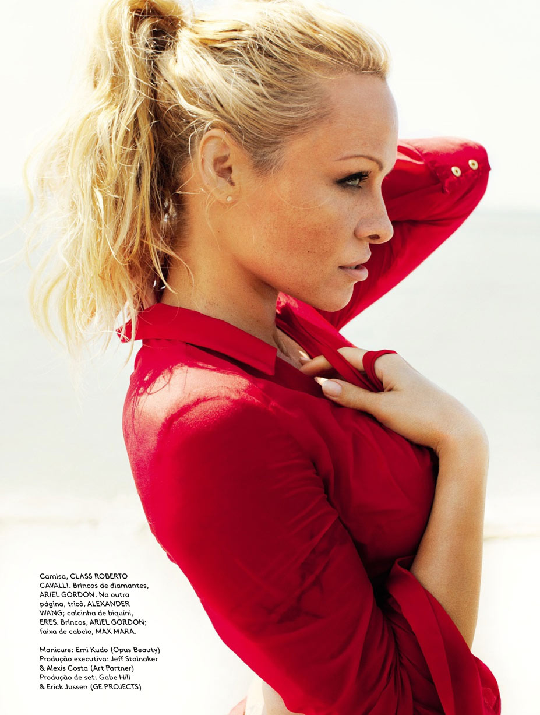 Pamela Anderson / Памела Андерсон, фотограф Mario Testino - Vogue Brazil june 2013