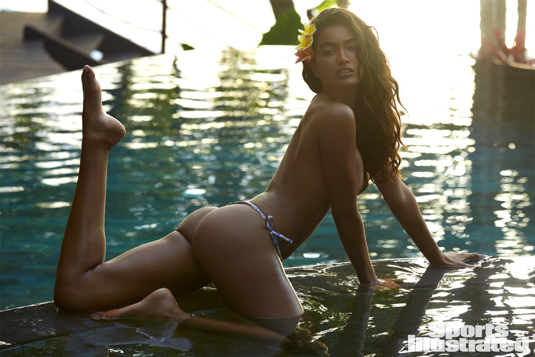 Kelly Gale / Келли Гейл в купальниках из новой коллекции Sports Illustrated Swimsuit 2017 issue / in Sumba Island by James Macari