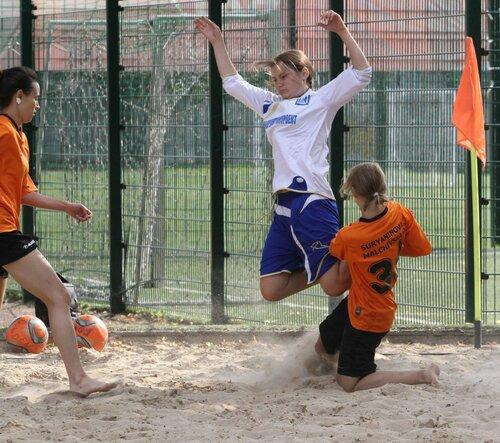 8 «United Female Cup» по пляжному футболу outdoor