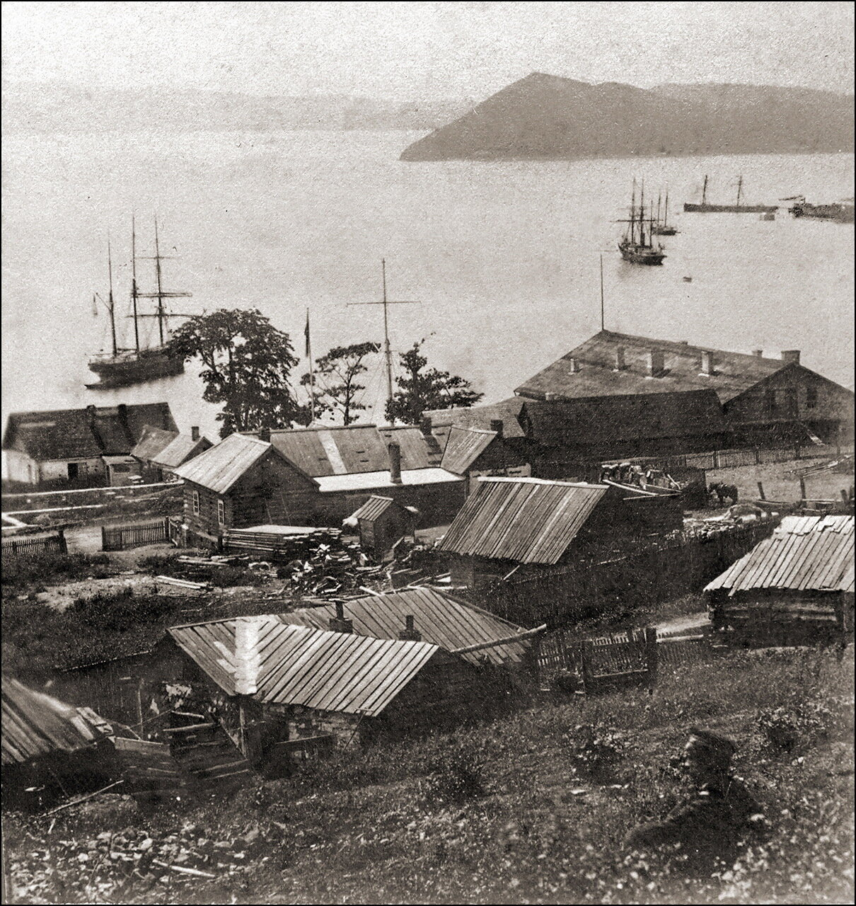 Владивосток в 1870 году.