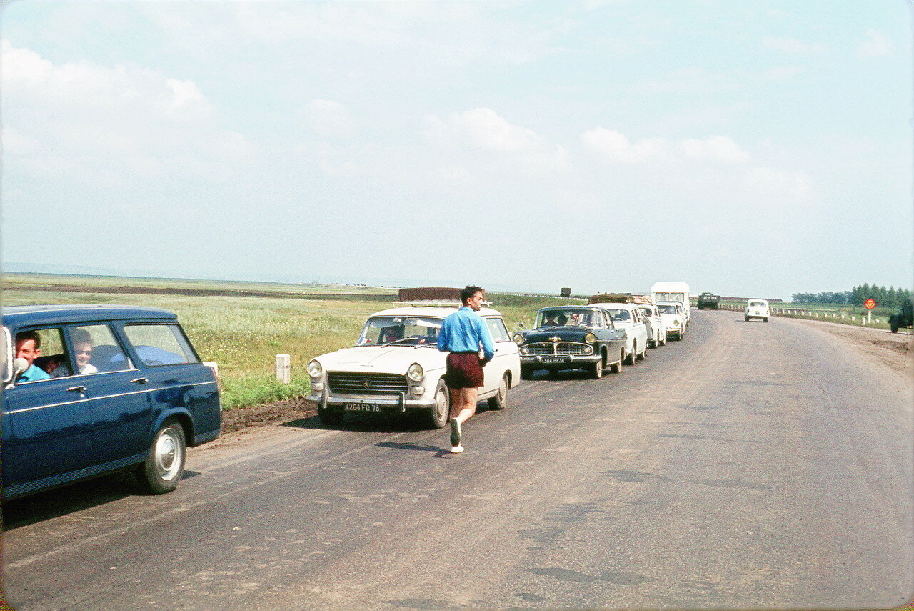 Дорога в Краснодар