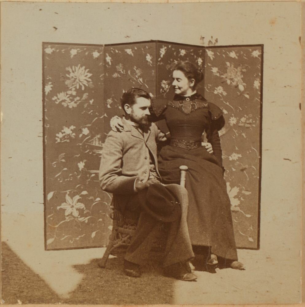 Элеонора и Фридрих Прэй. Февраль 1900