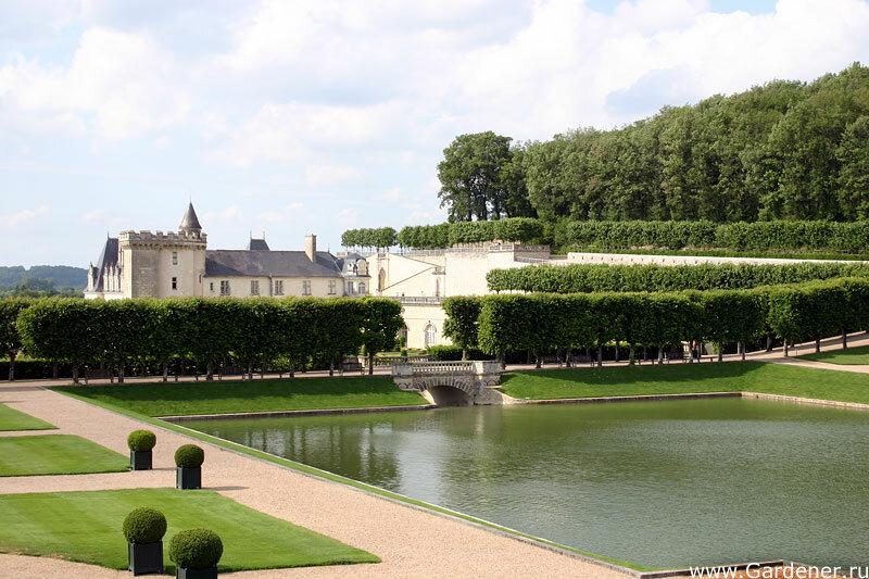 Замок Вилландри (Chateau de Villandry), сад Любви