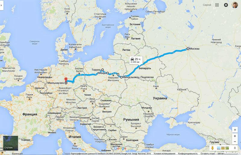 Гугл карты гулять по улицам германии