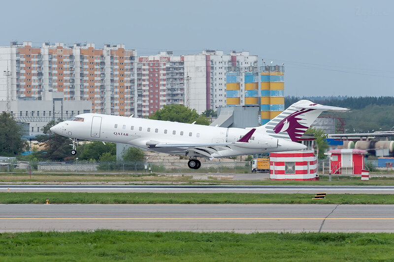 Bombardier BD-700-1A10 Global Express (A7-CEE) Qatar DSC_1580