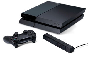 Sony представила новую игровую приставку — PlayStation4