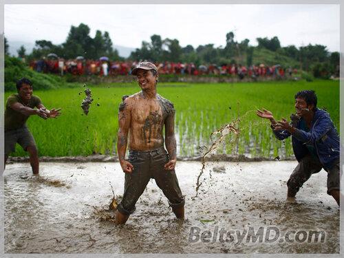 Как жители Непала празднуют — День риса