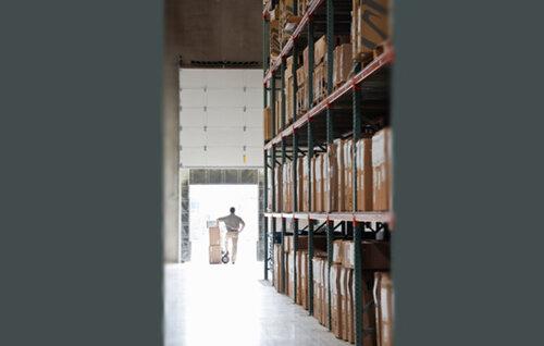 Набивные стеллажи как оптимальный способ размещения грузов на складе