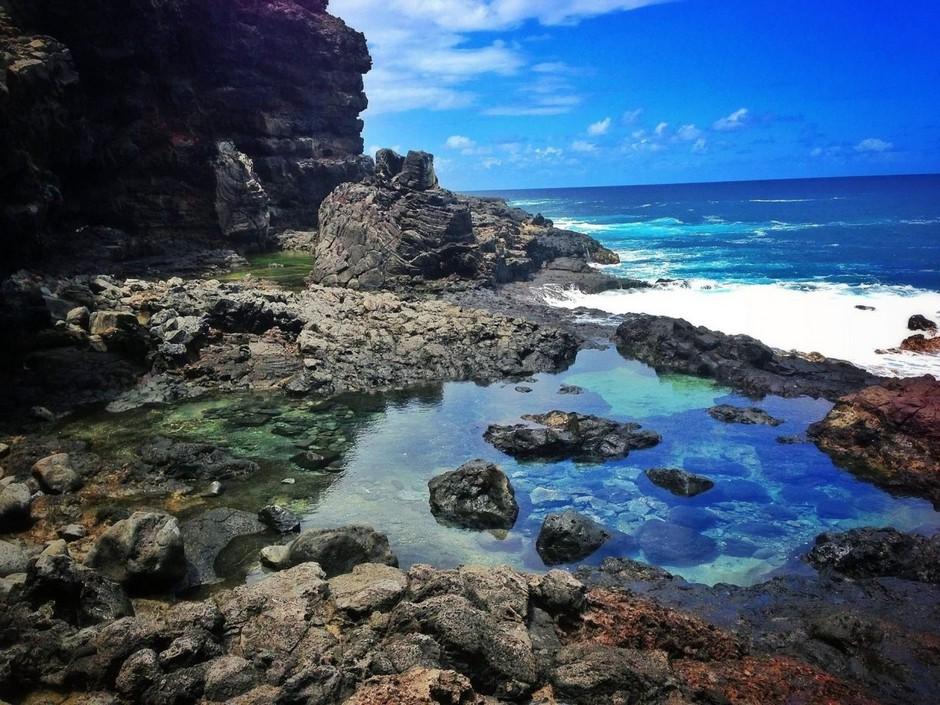 Секретные приливные бассейны на Гавайях