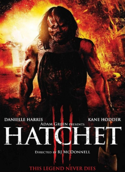 Топор 3 / Hatchet III (2013) BDRip 720p + HDRip + WEB-DL 720p + WEB-DLRip