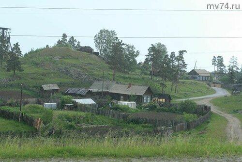 Старые деревянные домики