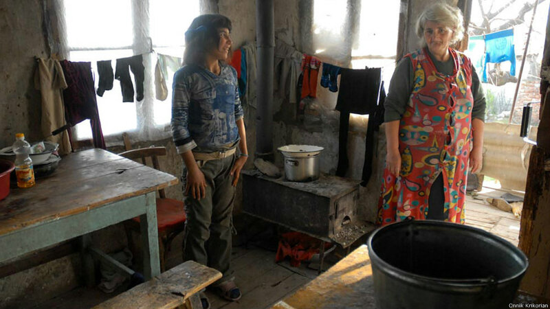 Цопи - деревня, где мирно живут армяне и азербайджанцы