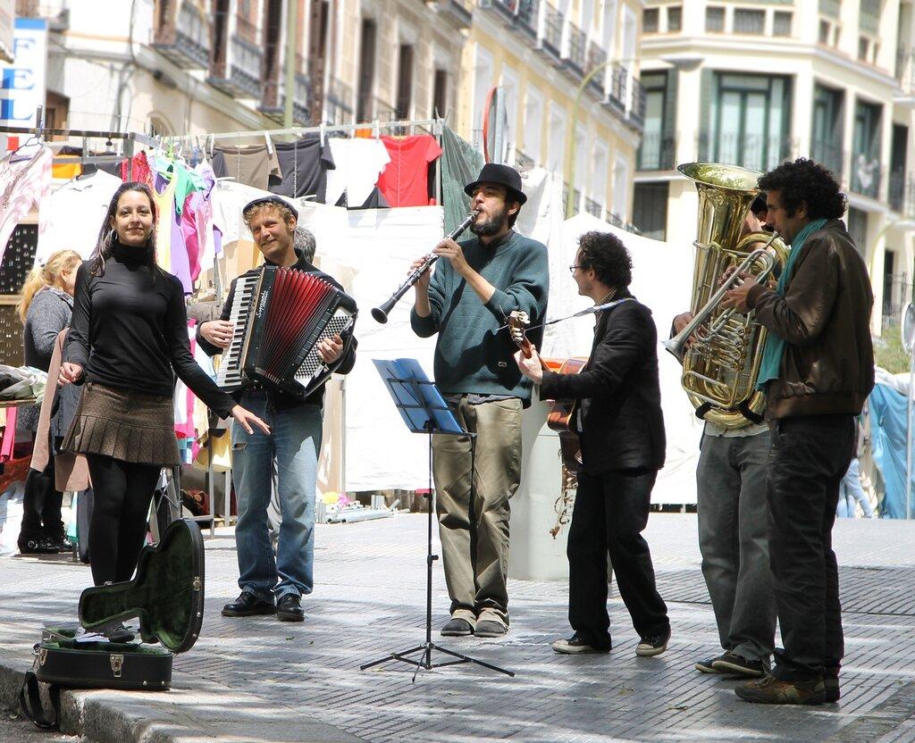 Мадрид. Рынок Эль Растро (Mercadillo El Rastro)