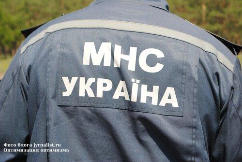 Противопожарные учения в Луганске 11 июня 2013