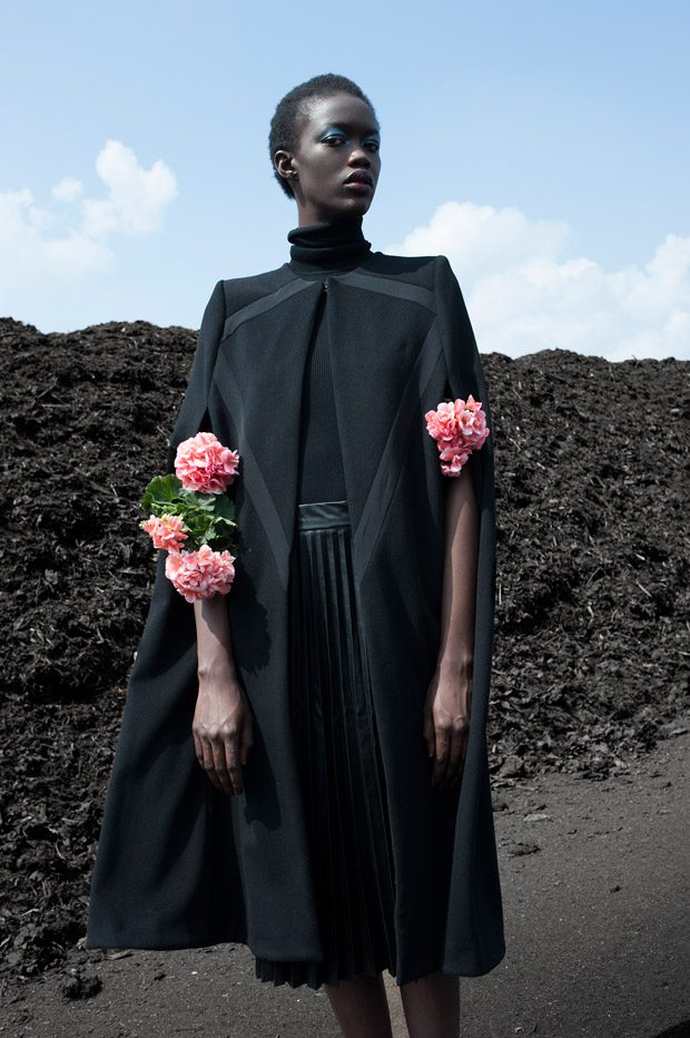 Lady Botanist story captured exclusively for DESIGN SCENE STYLE stories by fashion photographer Imke