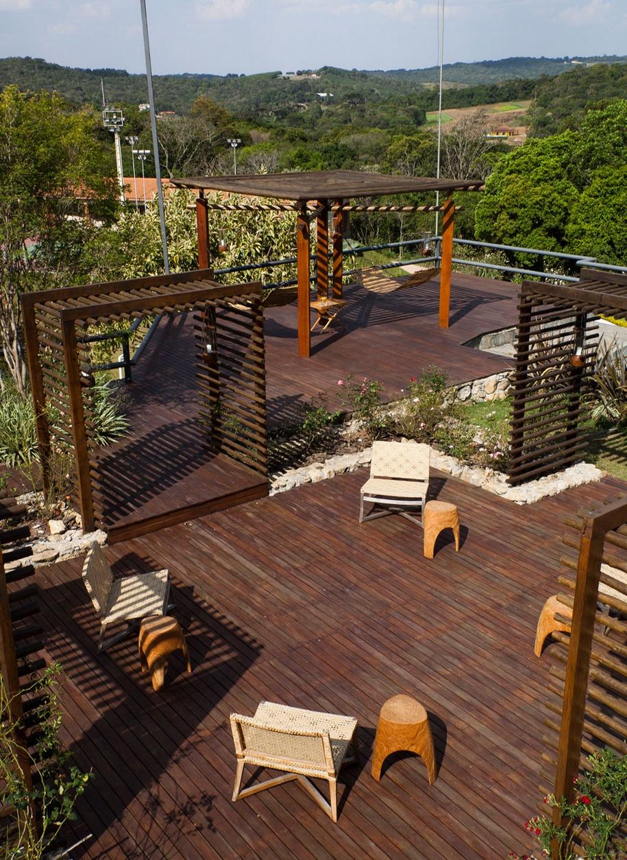 Загородная фазенда для большой семьи в Сан-Паулу