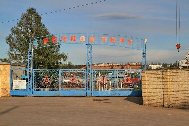 Нижегородский речной порт