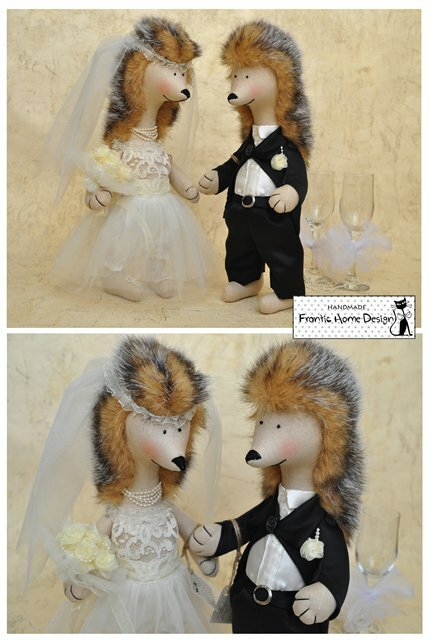свадьба ежиков