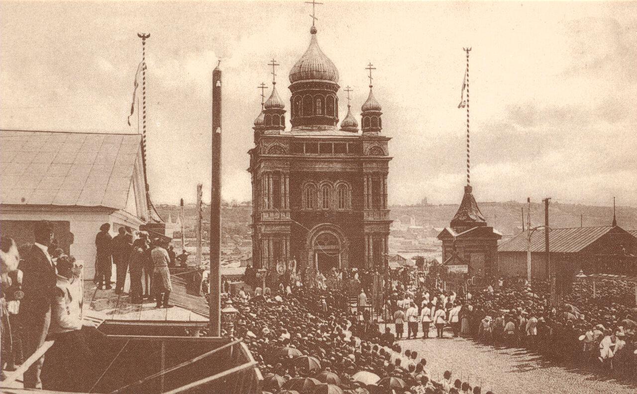 Макарьевская или Флачная часовня (1866г.), принадлежащая Макарьевскому женскому монастырю.