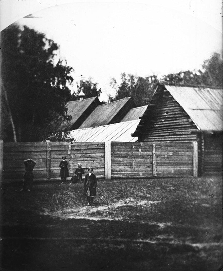 Общий вид старообрядческой часовни. 1894 г. г. Городец, Нижегородская губерния.