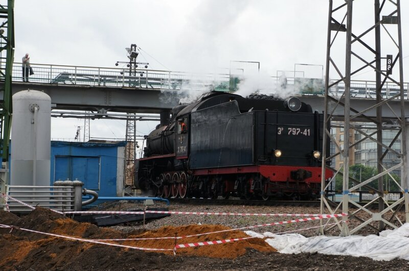 На паровозе с Рижского вокзала!