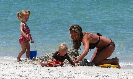 Отпуск с маленьким ребенком