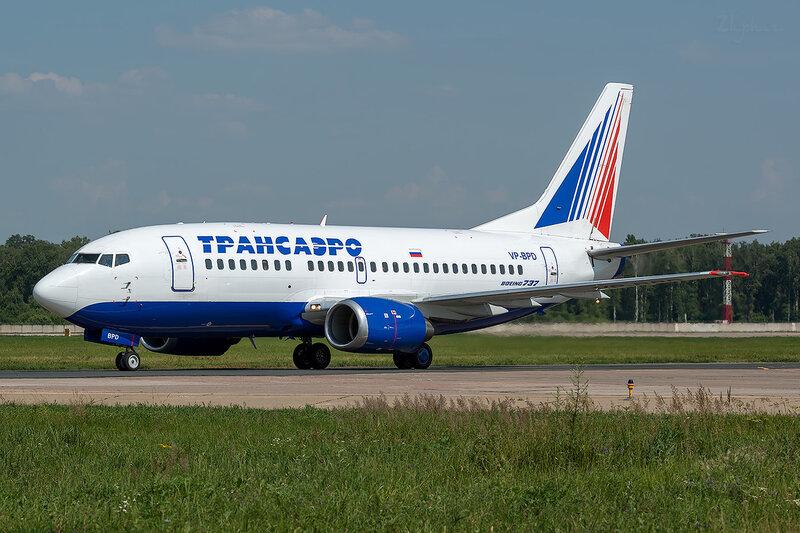 Boeing 737-5K5 (VP-BPD) Трансаэро D801631