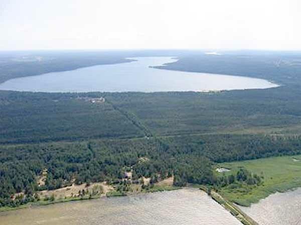 Озеро Копанское Ленинградская область Кингисеппский район